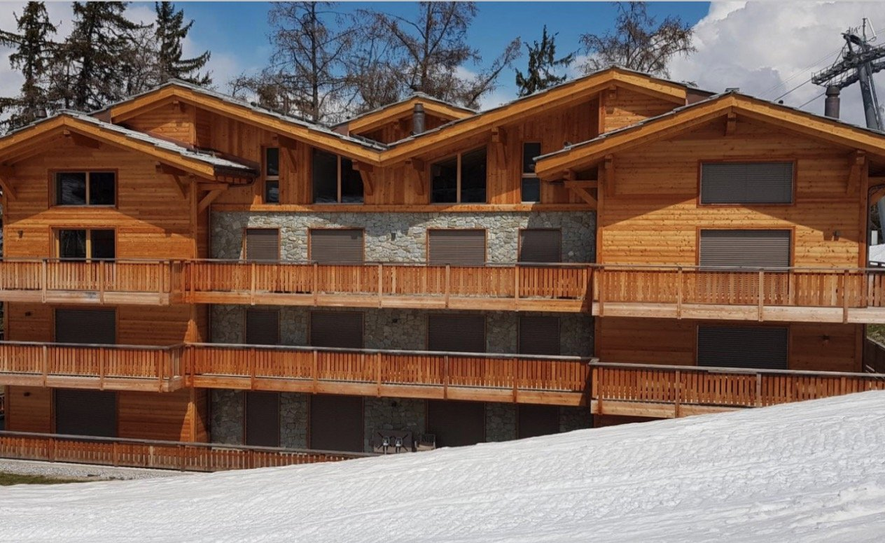 Luxury Ski in-Ski out Apartments for sale in Veysonnaz